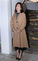 路永佳「連勝武老婆」出席Jamei Chen 2021春夏Collection 發表。(記者邱榮吉/攝影)