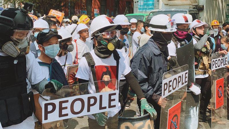 緬甸3警員赴印度尋求庇護 抗拒執行軍政府命令