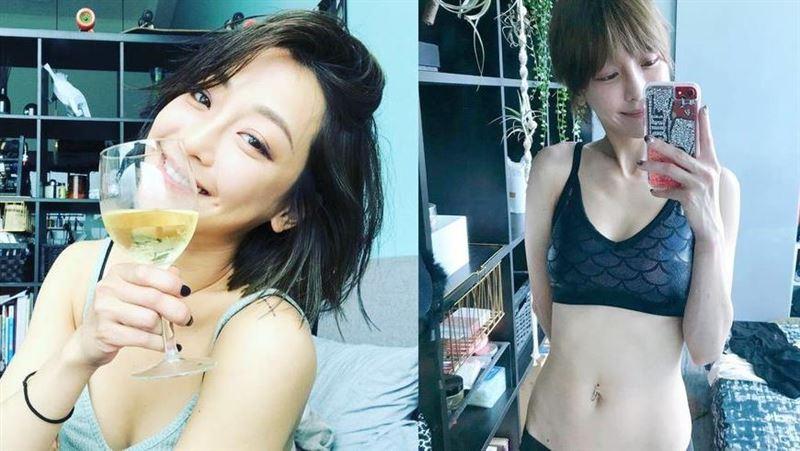 女演員謝欣穎 曝維持身材的3大祕訣