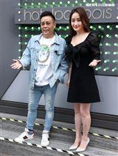「山中森林」導演姜寧、製片人陳徳容分享前期製作情形。(記者邱榮吉/攝影)