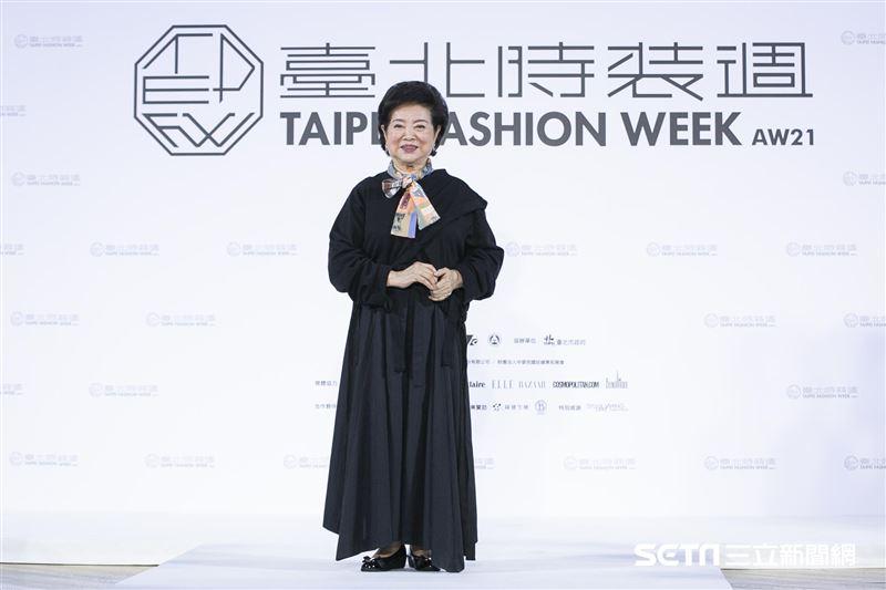 金馬影后陳淑芳現身2021臺北時裝週AW21展前記者會