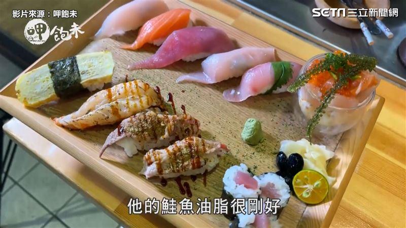 基隆漁港直送 高CP銅板價握壽司