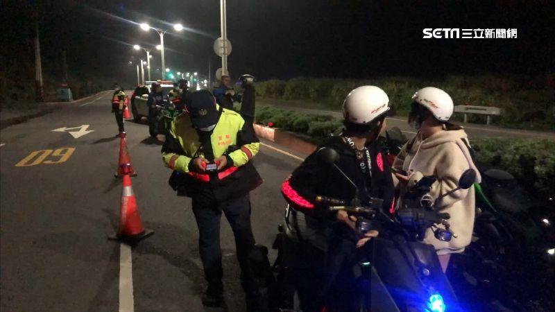 逾百人集結封路飆車 警逮16人法辦