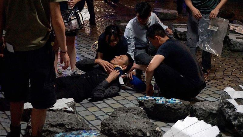 劉德華拍戲爆濺血 傷口狂流緊張急救