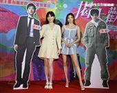 「揭大歡喜」演員女主角郭雪芙、男主角謝沛恩。(記者邱榮吉/攝影)