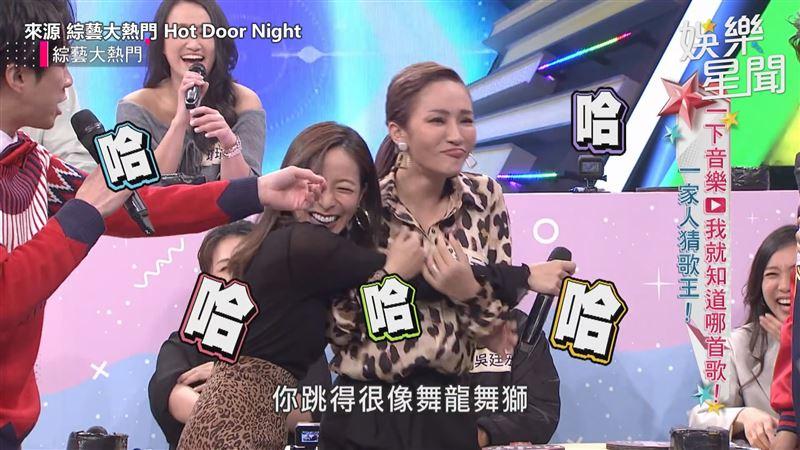 梁云菲凱莉同台演出 遭虧像舞龍舞獅