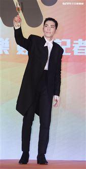 蕭敬騰和喜鵲娛樂、華納音樂續約。(記者邱榮吉/攝影)
