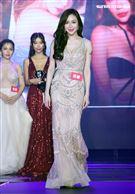 第二屆JKF百大女郎頒獎典禮第三名莉娜。(記者邱榮吉/攝影)