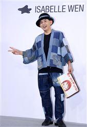 黃子佼出席ISABELLE Wen溫慶珠時裝秀。(記者邱榮吉/攝影)