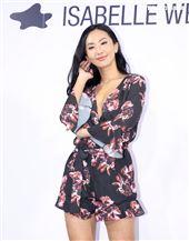 薔薔出席ISABELLE Wen溫慶珠時裝秀。(記者邱榮吉/攝影)