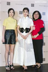 賈靜雯出席夏姿‧陳《拾華》慈善記者會。(圖/記者楊澍攝影)
