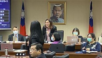陳玉珍通過疫苗採購小組 綠立委抗議