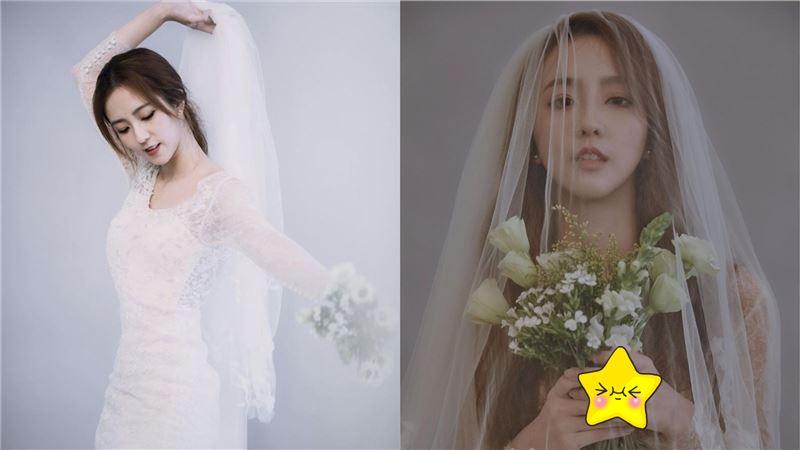 周曉涵突拋婚紗照 粉驚:要結婚了?