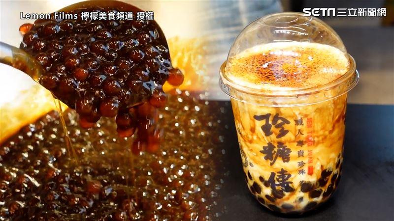 影/直擊手炒黑糖珍珠鮮奶 超美琥珀色網瘋:來一杯! | 生活 | 三立新