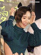 「當男人戀愛時」演員Lulu黃路梓茵。(記者邱榮吉/攝影)