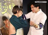 「當男人戀愛時」演員邱澤、Lulu黃路梓茵。(記者邱榮吉/攝影)