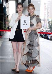 王樂妍投資開美容SPA店嘉賓簡沛恩前往祝賀。(記者邱榮吉/攝影)
