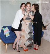 王樂妍投資開美容SPA店嘉賓方馨、簡沛恩前往祝賀。(記者邱榮吉/攝影)