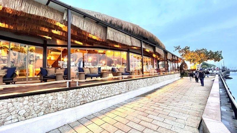 坐擁海景第一排!來淡水「南洋風」咖啡廳喝下午茶配夕陽! | 名家 | 三