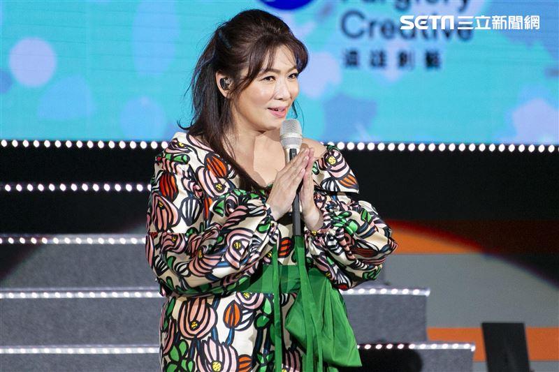 趙詠華和林俊逸服裝造型令人驚艷。(圖/記者楊澍攝影)