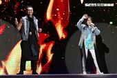 經典歌后趙詠華與全能歌王林俊逸,在國際會議中心舉辦「華逸登場」演唱會。(圖/記者楊澍攝影)