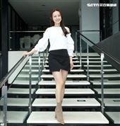 台8女星璟宣三立新聞網專訪。(記者邱榮吉/攝影)