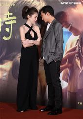邱澤、許瑋甯出席「當男人戀愛時」電影首映會。(記者邱榮吉/攝影)