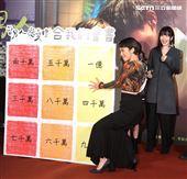 Lulu黃路梓茵出席「當男人戀愛時」電影首映會。(記者邱榮吉/攝影)