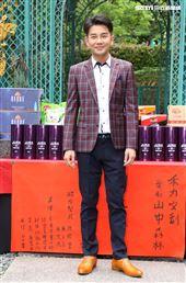 演員謝承均出席「山中森林」開鏡儀式。(記者邱榮吉/攝影)
