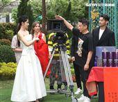 演員李康生、李千那出席「山中森林」開鏡儀式。(記者邱榮吉/攝影)