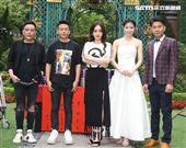 導演姜寧演員李康生、陳德容、李千那、謝承均出席「山中森林」開鏡儀式。(記者邱榮吉/攝影)