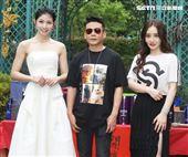 演員李千那、李康生、陳德容出席「山中森林」開鏡儀式。(記者邱榮吉/攝影)