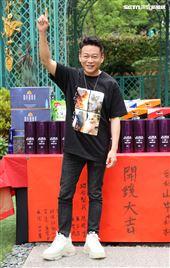 演員李康生出席「山中森林」開鏡儀式。(記者邱榮吉/攝影)