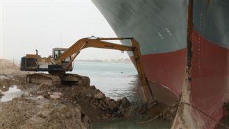 蘇伊士運河挖掘者爆紅 自曝壓力很大