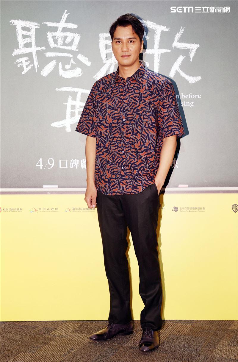 「聽見歌 再唱」演員馬志翔。(記者邱榮吉/攝影)