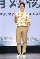 李唯楓出席「有好物」電商平台活動。(記者邱榮吉/攝影)
