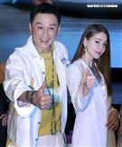 何篤霖、安妮出席「有好物」電商平台活動。(記者邱榮吉/攝影)
