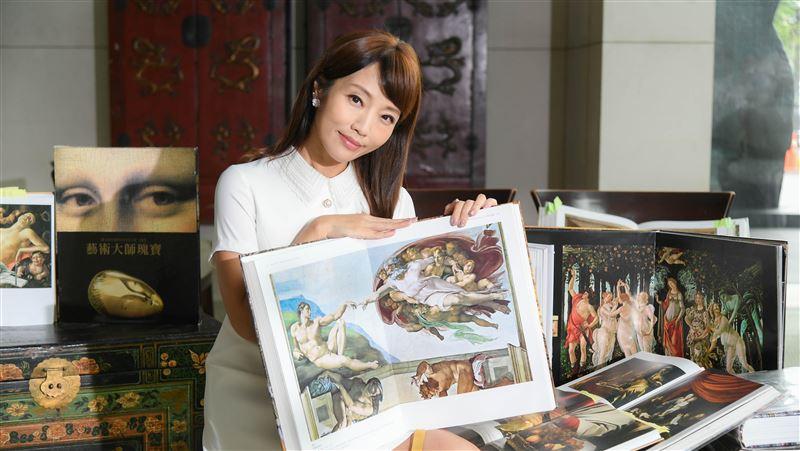 李天怡跨界藝術行銷 竟暴瘦3公斤