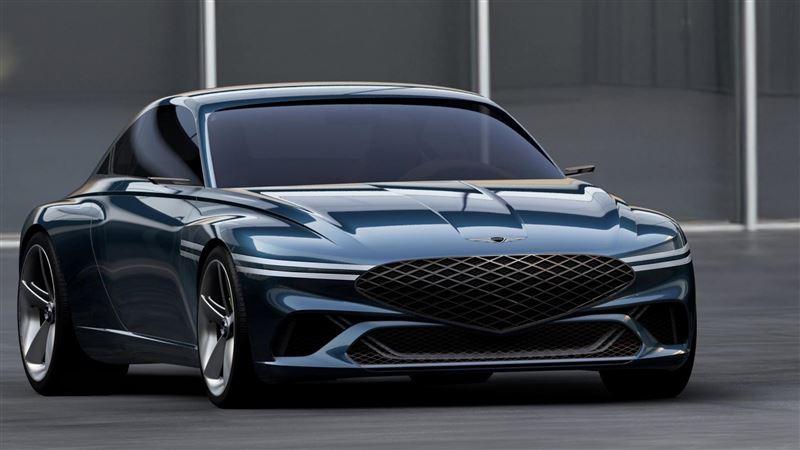 歐美電動車最大對手 Genesis發表電動跑車