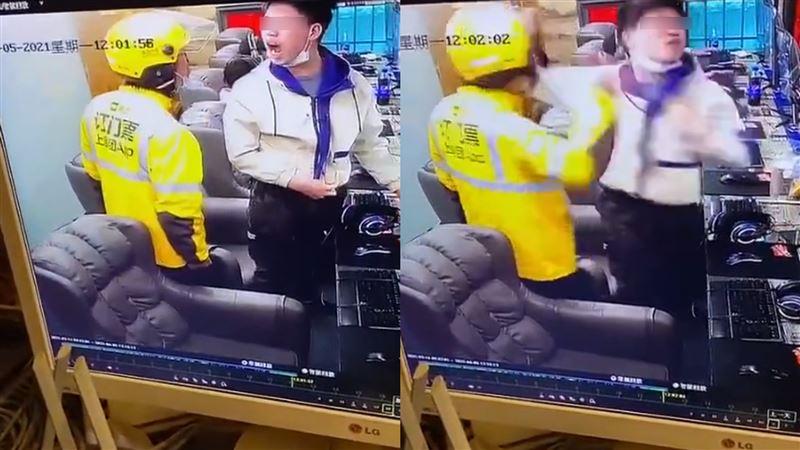 [新聞] 遊戲打輸不接電話!他網咖甩外送員巴掌 慘遭6秒7拳KO