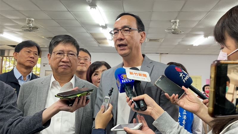 國民黨要蘇貞昌下台 朱立倫:執政當局徹底檢討、全力改革