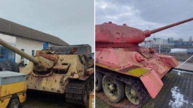 捷克政府呼籲上繳武器開來一輛坦克 警:政變嗎?