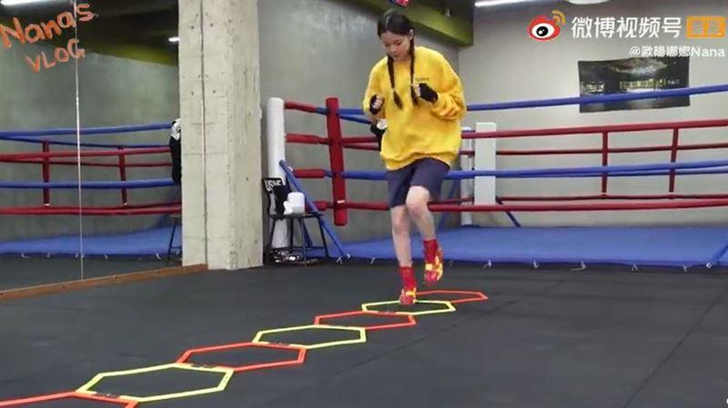 歐陽娜娜臉紅運動片流出 網驚:仙女