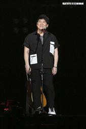 周華健全新巡演《少年俠客》演唱會。(圖/記者楊澍攝影)