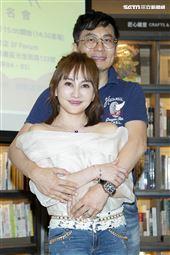 王宥忻與老公恩愛放閃。(圖/記者楊澍攝影)