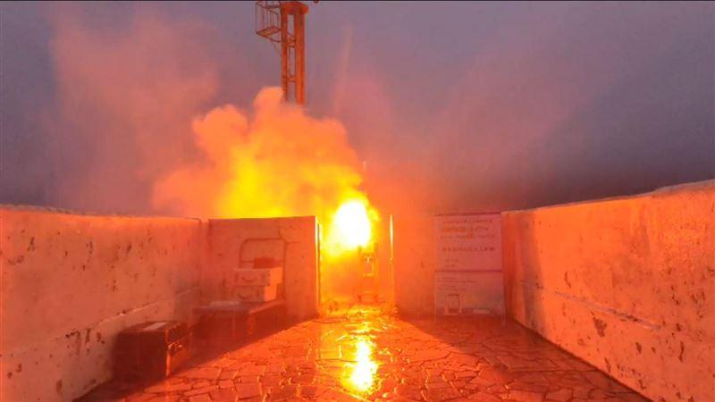 下雨了!石門水庫施放人造雨焰劑 盼增強雨量