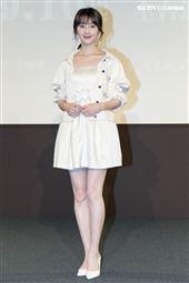 《用九柑仔店》改編為舞台劇,謝翔雅出席記者會。(圖/記者楊澍攝影)