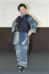 《用九柑仔店》改編為舞台劇,呂雪鳳出席記者會。(圖/記者楊澍攝影)