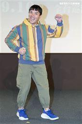 《用九柑仔店》改編為舞台劇,林木森出席記者會。(圖/記者楊澍攝影)