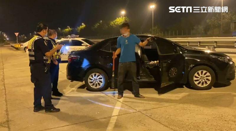 新/國道飆16公里攔車 惡煞3打1